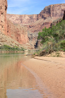 Upstream through Marble Canyon
